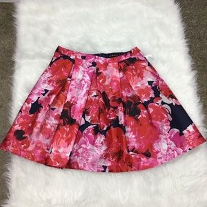 My Michelle Floral Print Flare Skirt Size …